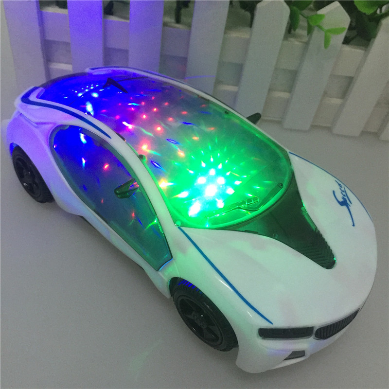 2016 new 3d flash light music electric for bmw car model toys carcar collection for kids birthday childrens day gift s2