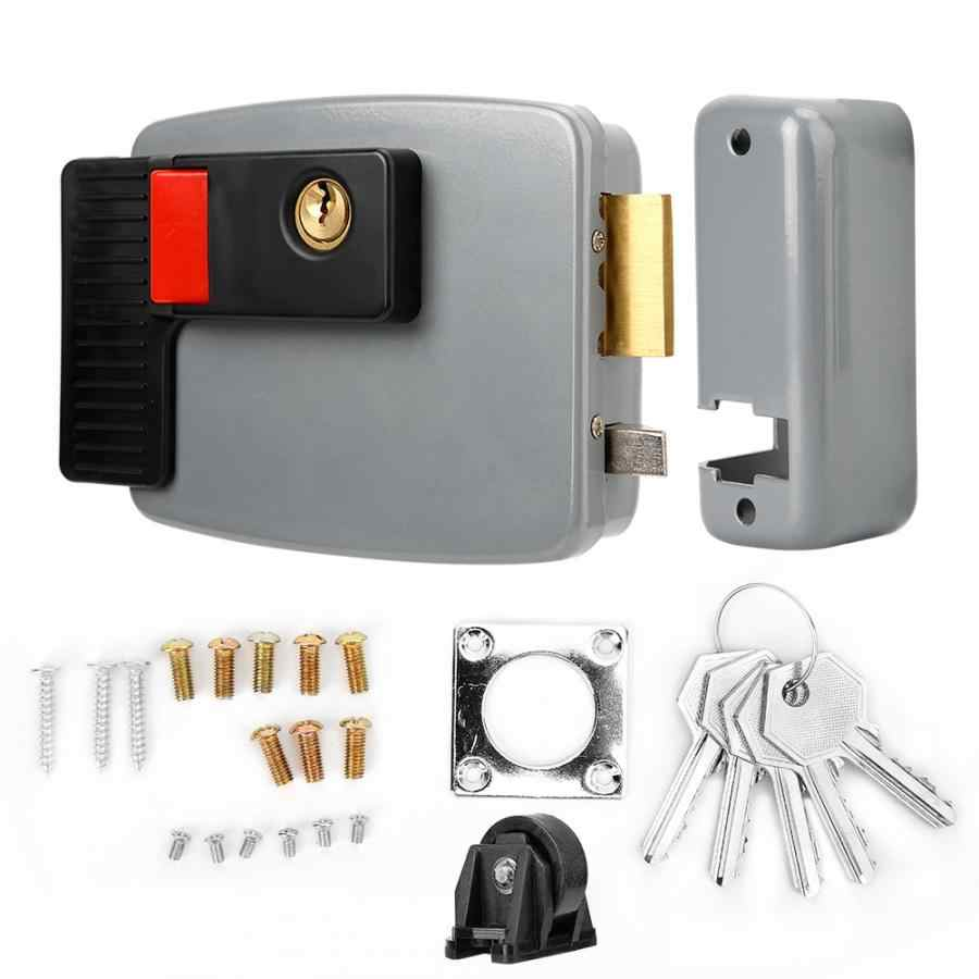 locks DC12V Electric Control Magnetic Door Lock for Home Video Intercom Door Bell Access Right Left