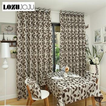 LOZUJOJU envío libre rústico deja diseño cortinas 3d cortinas ...