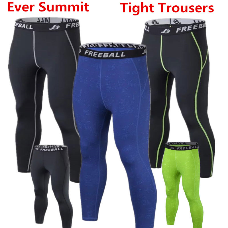 Us 15 99 Winter Thermische Manner Compression Laufhose Gym Engen Lange Hosen Fitness Hosen Fussball Training Leggings Immer Summit A105 In
