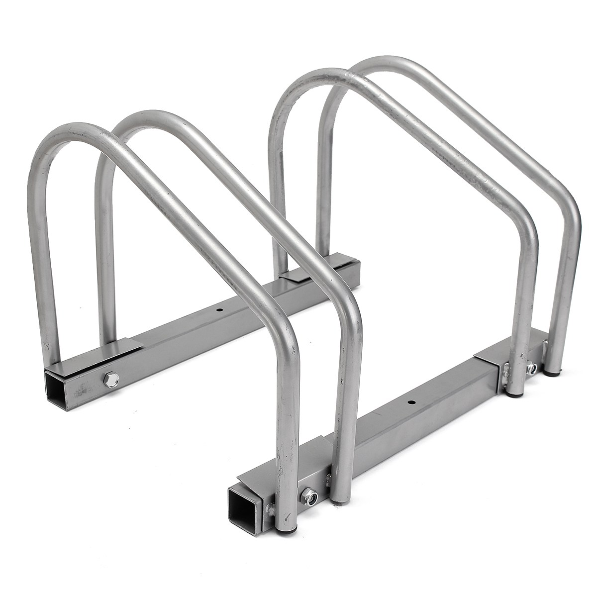 New Arrival Steel Secure Two Bicycles Storage Bike Rack Hoder MTB Mountain Road Bicycle Gear Frame Cycling Stand Bicycle Parts west biking bike chain wheel 39 53t bicycle crank 170 175mm fit speed 9 mtb road bike cycling bicycle crank