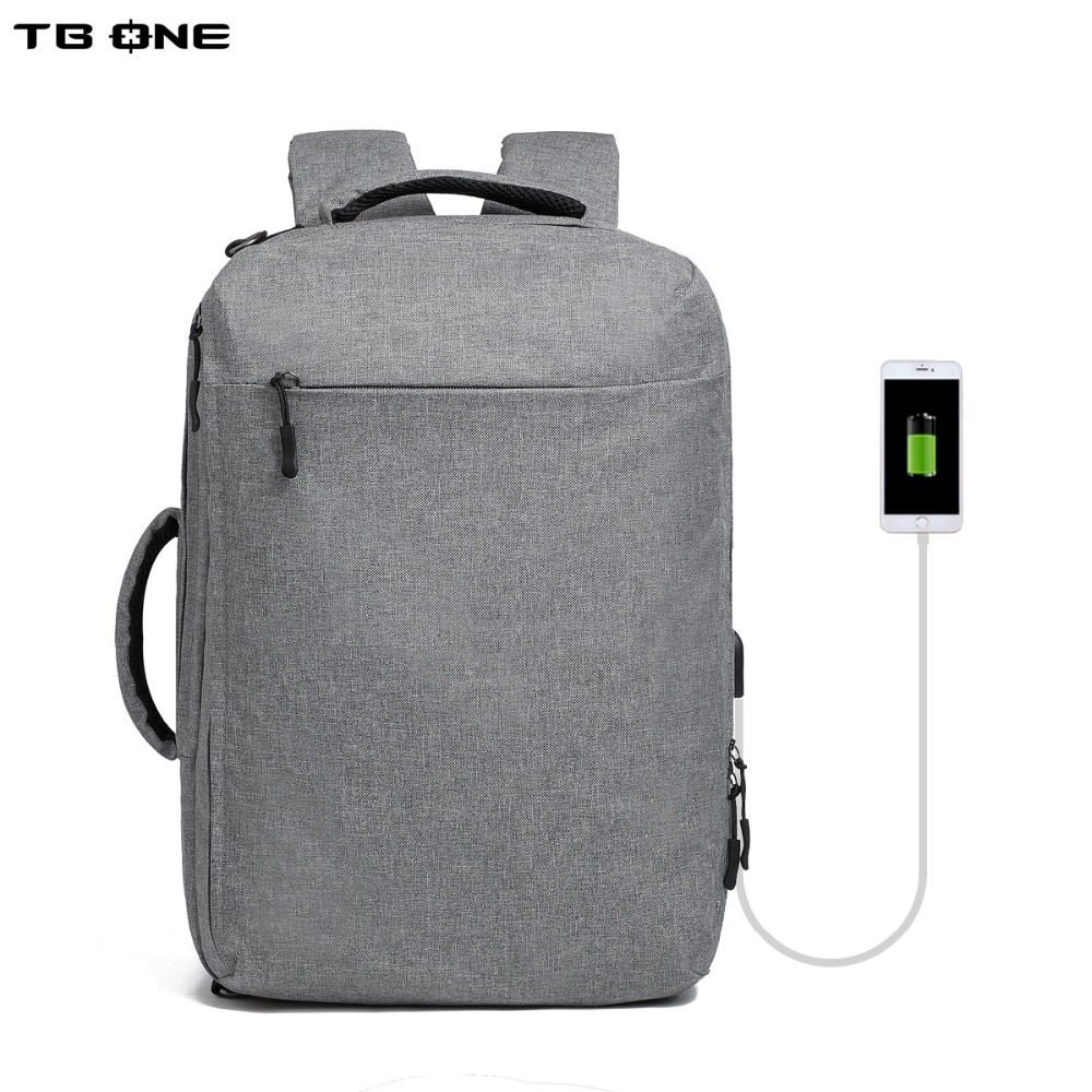 TBONE Multifunction USB charge Men 15inch Laptop Backpacks For Teenager Fashion Male Mochila Leisure Travel backpack anti thief men backpack student school bag for teenager boys large capacity trip backpacks laptop backpack for 15 inches mochila masculina