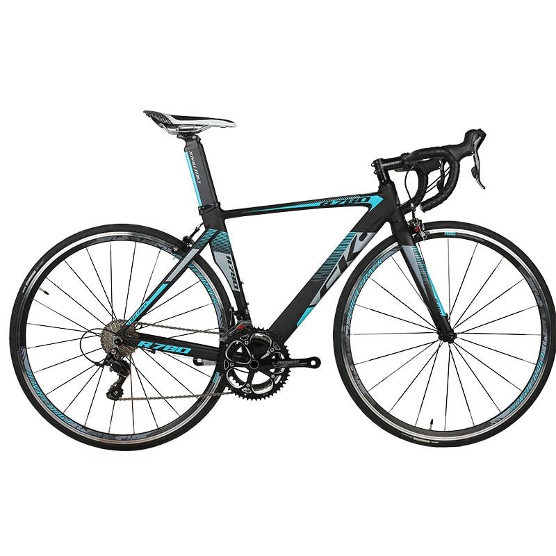 Richbit carretera carrera de bicicletas de 18 velocidades de 9 marchas shimano c