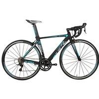 Richbit road bike de corrida  garfo de fibra de carbono com 18 velocidades  9 velocidades  cassete ultra leve  garfo shimano 3500 700c * 46/48cm bicicleta de estrada