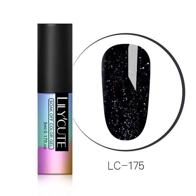 LILYCUTE 5ml Glitter Nail Gel