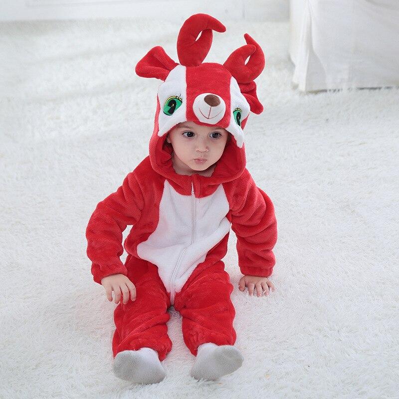 Winter Cute Baby Boys Girls Red