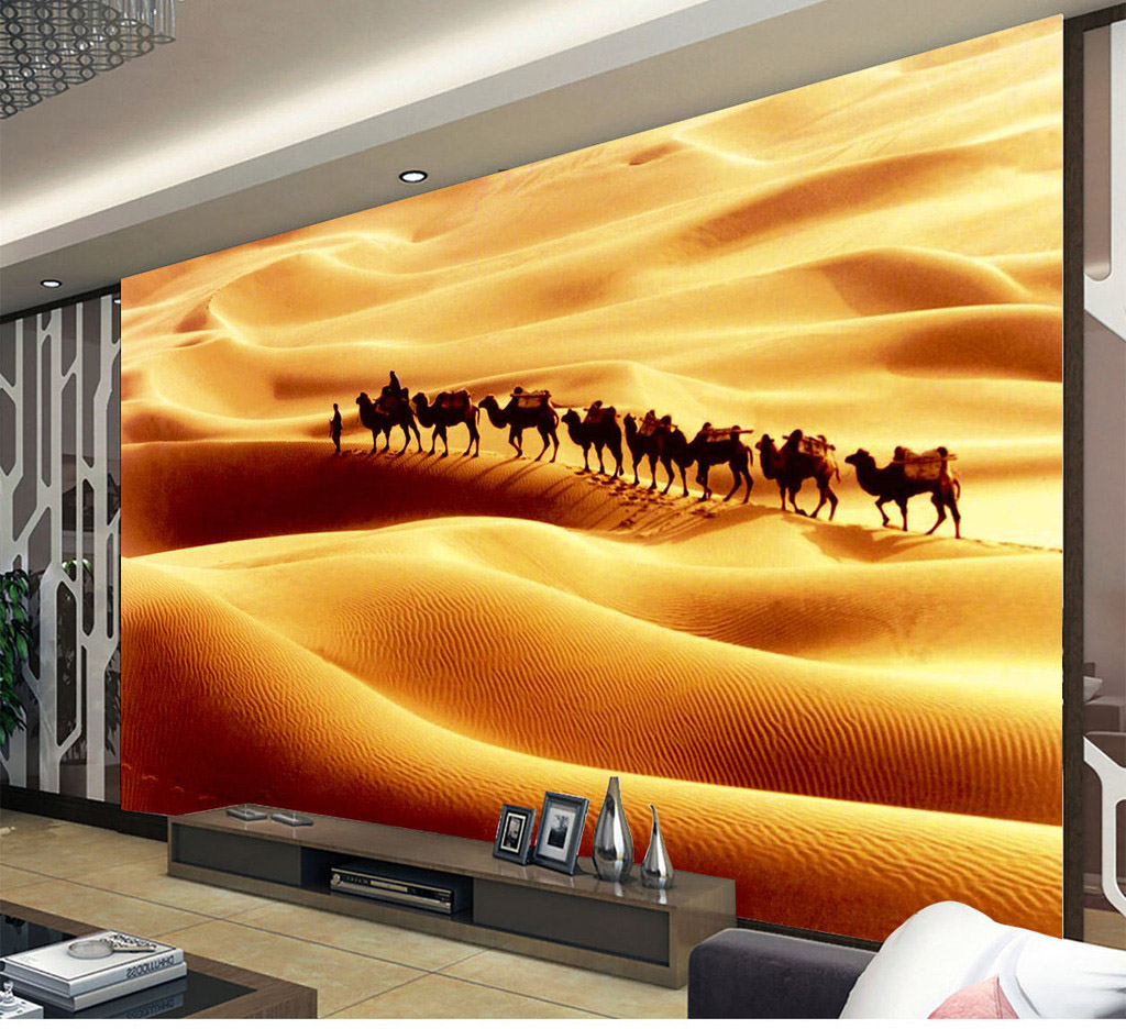 Shinehome Large Nature Wallpaper for 3 d Living Room Wall Silk ...