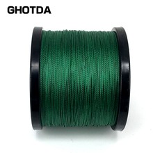 GHOTDA  300m 500m 1000m GHOTDA Brand fishing line pe braided linha de pesca multifilamento 18 28 35 40 50 60 80lb