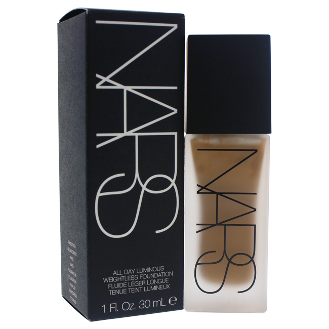 All Day Luminous Weightless Foundation - # 1 Syracuse/Medium-Dark by NARS for Women - 1 oz Foundation tint du soleil whipped foundation spf 30 light by colorescience for women 1 oz foundation
