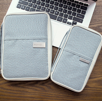 Multifunctional Travel Passport Cover Holder Short Women Wallet Bag Card Holder Travel Storage Purse Handbag For