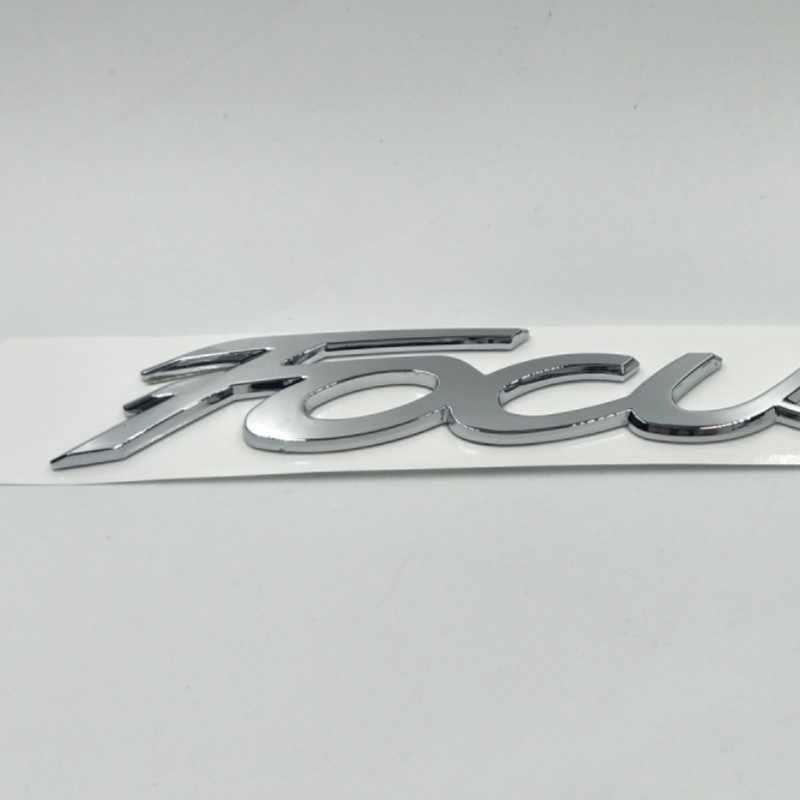 Para Ford Focus 2 3 MK2 MK3 emblema de maletero trasero insignia logo Placa de nombre