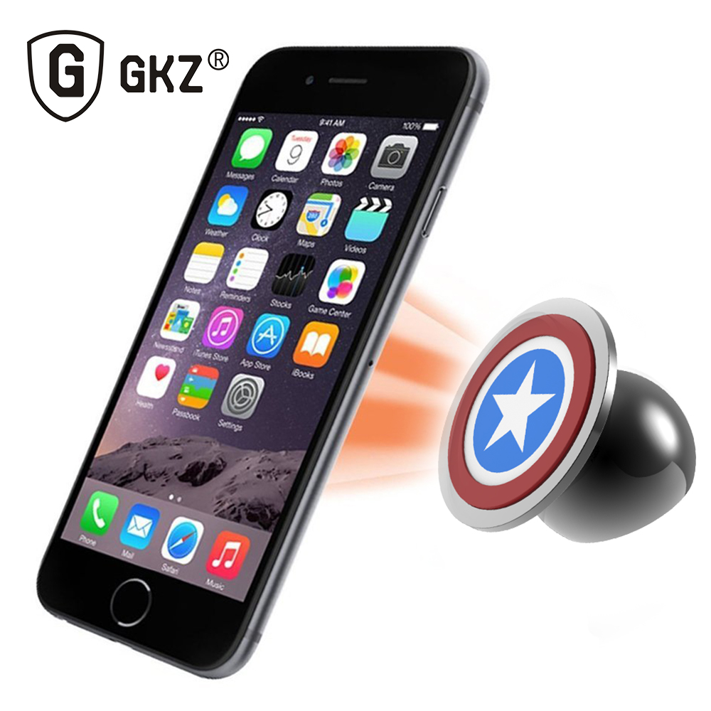 product GKZ Magnetic Phone Holder UF-X BRKT Magnetic Mobile Phone Holder Car Phone Stand for iPhone And Smartphone support for mobile