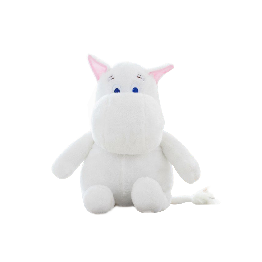 1pcs Genuine 23cm Moomin Hippo Plush Toy Stuffed Doll little fertilizer valentine Park Spring bom the huge lovely hippo toy plush doll cartoon hippo doll gift toy about 160cm pink
