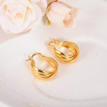 2 пары романтический золотой цвет серебро Мода Серьги изделия африканских Для женщин Серьги золотое покрытие серьги Для женщин девочек charmsgift