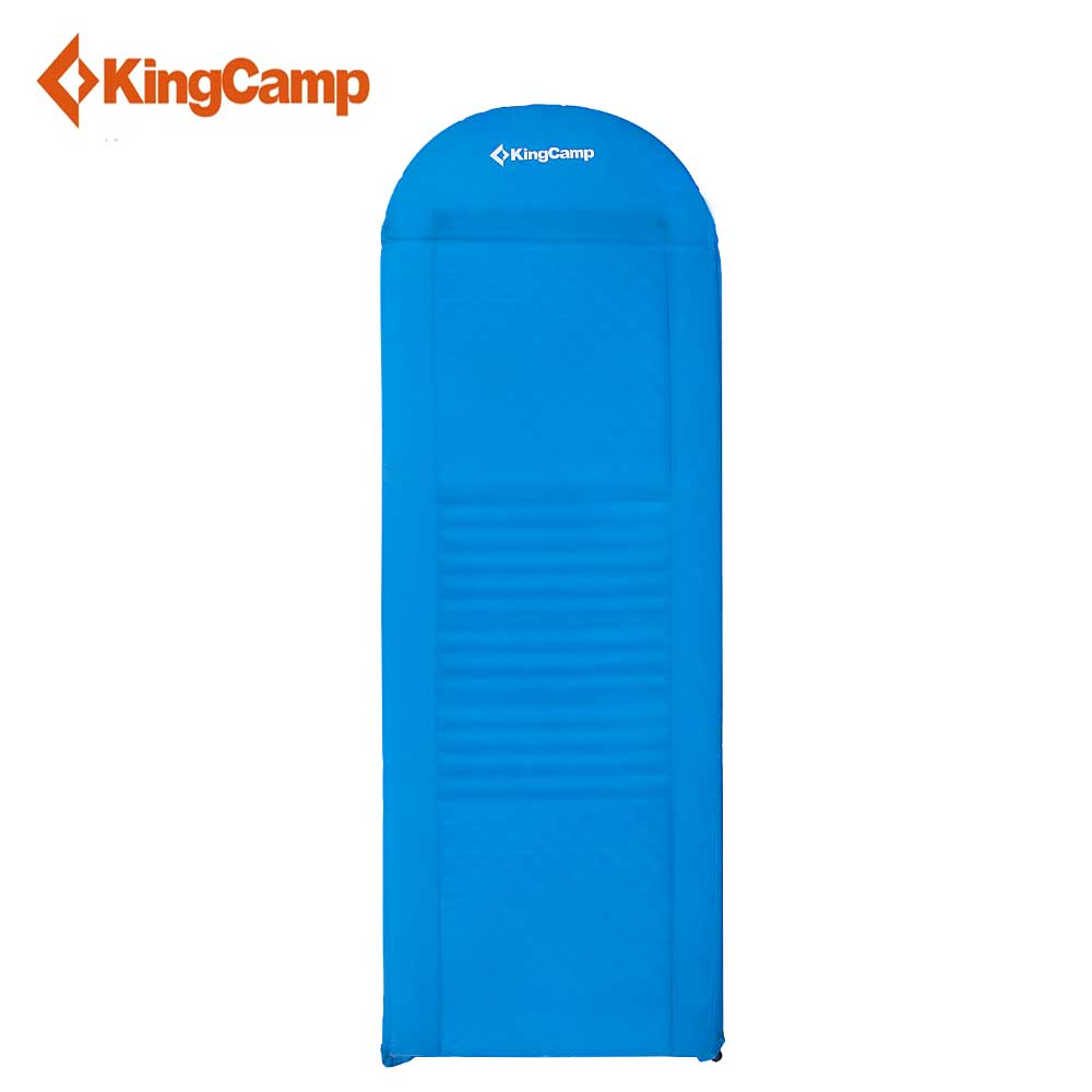 KingCamp Tent Mat Outdoor Camping Mats Comfort Plus Self-Inflating Sleeping Pad for Hiking Trekking Air Mattress цены онлайн