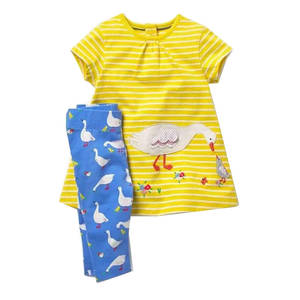 W.L.MONSOON Summer Clothes Girl Children Clothing Kids Set