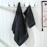 LYN&GY Red 100% Cotton Towel Set 1pc 70*140cm Bath Towel Two Pieces 34*75cm Face Towels Gift Family Terry Towel Set 3PCS/Set