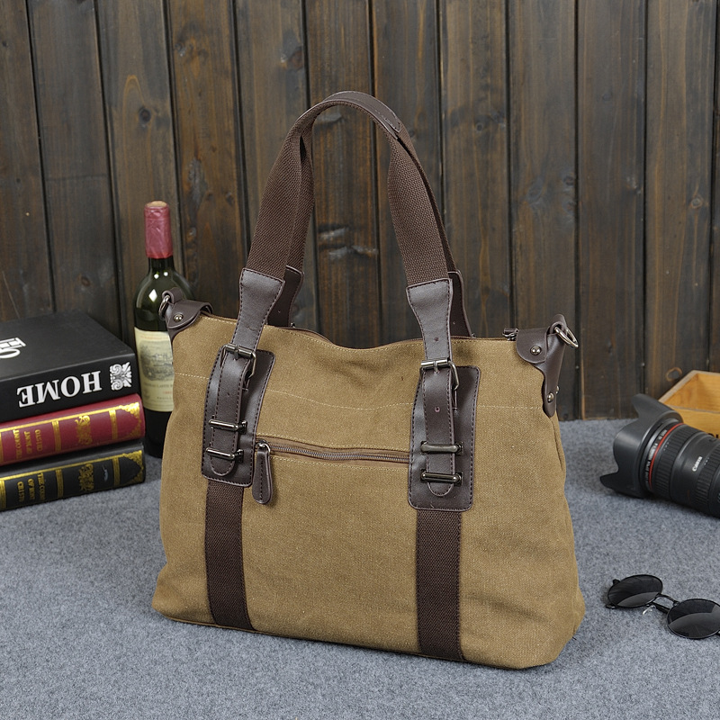 retro Vintage Crossbody Bag Brand Canvas Shoulder Bags Men Messenger Bag Men High Quality Handbag Tote Briefcase vintage crossbody bag military canvas shoulder bags men messenger bag men casual handbag tote business briefcase for computer