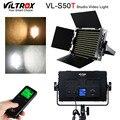 Viltrox VL-S50T LED видео тонкий 50 Вт двухцветный Диммируемый ЖК-свет 3300 K-5600 K для студийной камеры видеокамеры и беспроводного пульта дистанционног...