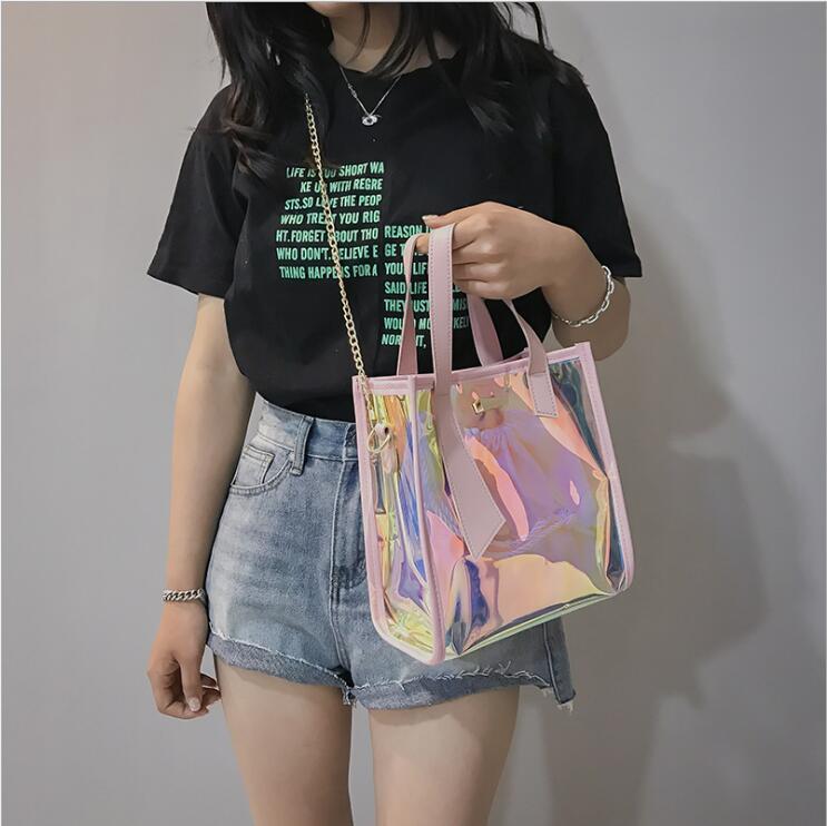 2018 Kvinnor Messenger Väskor Mode Mini Bag Med Kedja Kvinnor - Handväskor - Foto 3