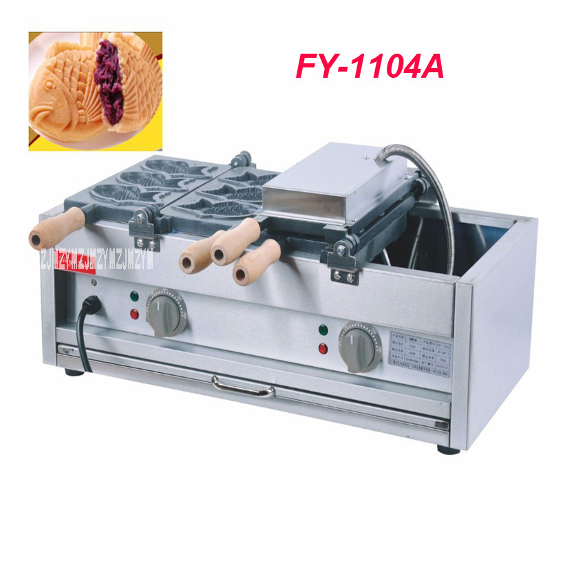 Cooking Appliances Adroit Ipc Fy-1104a Electric Fish Waffle Maker Taiyaki Waffle Machine Commercial Grain Fish Snapper Burn Grilled Fish Scone
