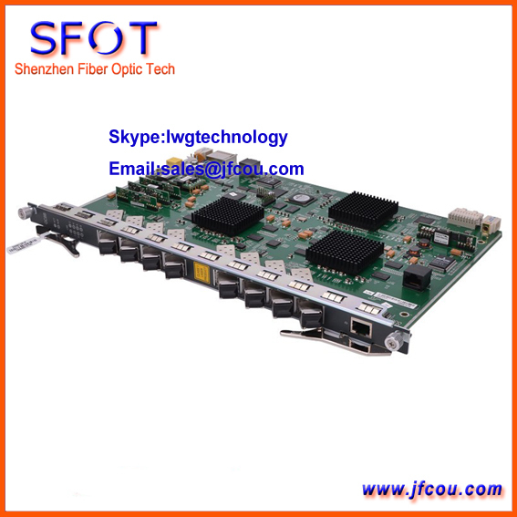 Original Fiberhome 8 ports GPON board for 5516 01 OLT  GC8B