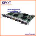 Original Fiberhome 8 puertos GPON tablero original OLT para 5516-01. modelo de tarjeta GC8B con 8 módulos SFP