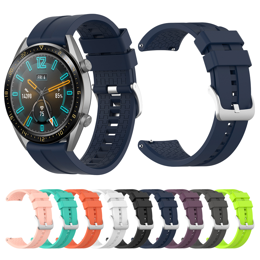 New Sports Silicone Wrist Strap For HUAWEI WATCH GT/GT Active/Elegant Band For Honor Magic Smart Watch Bracelet Watchband