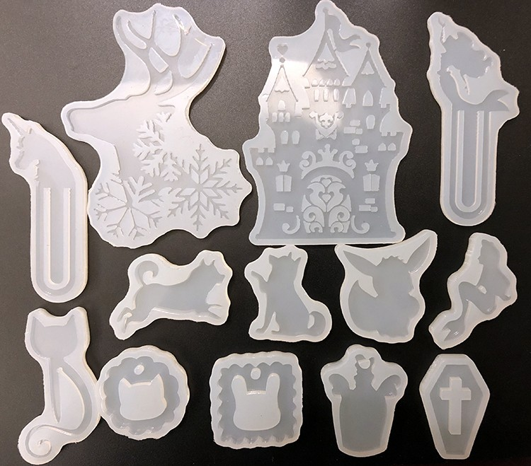 Silicone Mould Decorative Craft DIY Mold cutting shape Type molds for jewelry N5