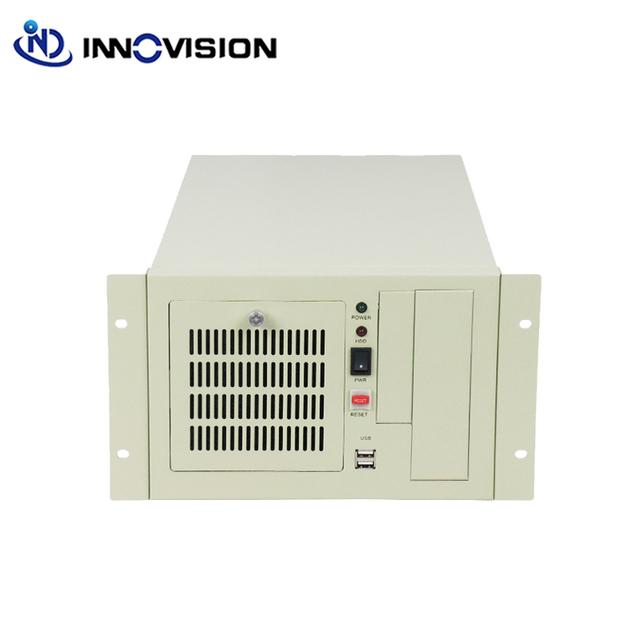 Stable wallmounted chassis IPC2407A industrial computer case supporting 7slot industrial ISA backplane