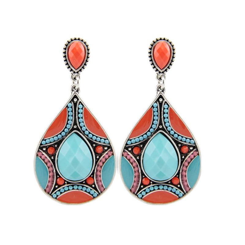 HuiMei Ethnic 2018 Novi dolazak Moda za žene Smola perle Link - Modni nakit - Foto 2