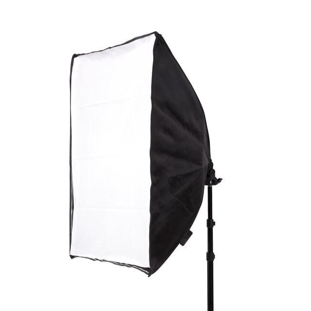 Photo Studio 8 LED 24W Softbox Kit Photographic Lighting Kit Camera Photo Accessories 2 Light Stand 2 Softbox 2 Lamp Holder 5