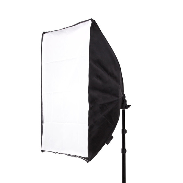 Photo Studio Kit Photography Lighting 2PCS*4 Socket Lamp Holder +2PCS* 50*70CM Softbox +2PCS*2m Light Stand Photo Soft Box