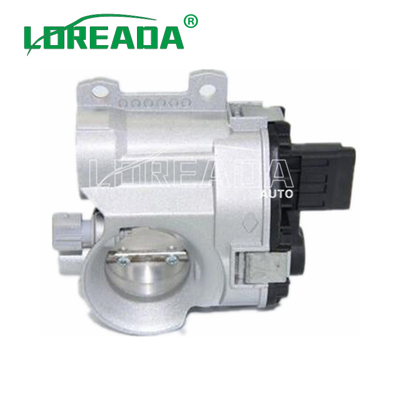 LOREADA Throttle Body Assembly for PEUGEOT 206 1.0 16v 2000 OEM SMR0010 H8200067219 714046839974 8200065648 8200166870 42mm LOREADA Throttle Body Assembly for PEUGEOT 206 1.0 16v 2000 OEM SMR0010 H8200067219 714046839974 8200065648 8200166870 42mm