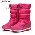 Novo 2016 mulheres botas de inverno botas de neve das mulheres grossas ao ar livre não-deslizamento à prova d' água botas de neve para as mulheres botas mujer 06