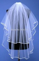 Veu De Noiva White Two Layer Wedding Veil Short Wedding Veil With Comb Veu De Noiva
