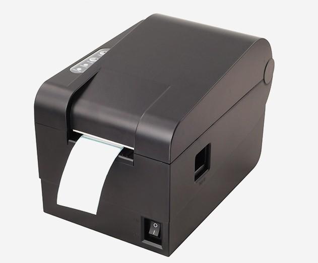 Térmica impresora de etiquetas de código de barras de papel etiqueta de la ropa pegatinas de código de dos dimensiones de la leche té supermercado