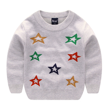 Wei Juan Sweaters For Girls Star Clothing Cardigan Cashmere Knitting Kids Pullover Outwears