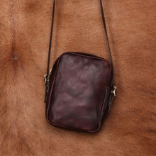 купить JOYIR Genuine Leather Bag Men Bags Men Messenger Bags Male Small Flap Vintage Leather Shoulder Crossbody Bags For Man дешево