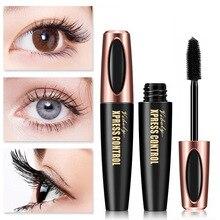 New 4D Silk Fiber Lash Mascara Waterproof VIBELY 3d Mascara For Eyelash Extension Black Thick Lengthening Eye Lashes Cosmetics