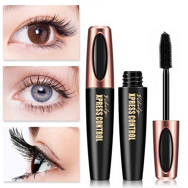 ad963dda27f New 4D Silk Fiber Lash Mascara Waterproof VIBELY 3d Mascara For Eyelash  Extension Black Thick Lengthening Eye Lashes Cosmetics