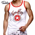 Taddlee Brand Mens sexy vest fitness bodybuilding workout tank tops cotton Sleeveles clothing Man undershirt Casual Tank Tops