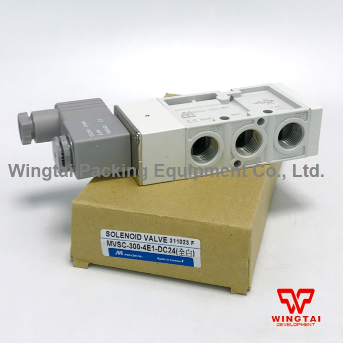 Mindman MVSC-300-4E1 3/8'' Air Pneumatic Solenoid Valve 5 Ported 4 Way DC24V bronze check valve1 8 1 4 3 8 1 2 one way valve pneumatic component air tools please ask for price