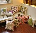 Cotton Embroidery Cushion /Pillow /Cushion/Decorative Handmade National Embroidery sofa Cushion