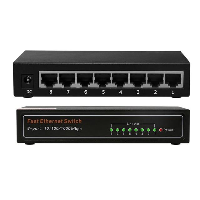 DC5V / 1A Bom preço para Switch Ethernet não gerenciado de 10/100 / - Equipamento de comunicação - Foto 2