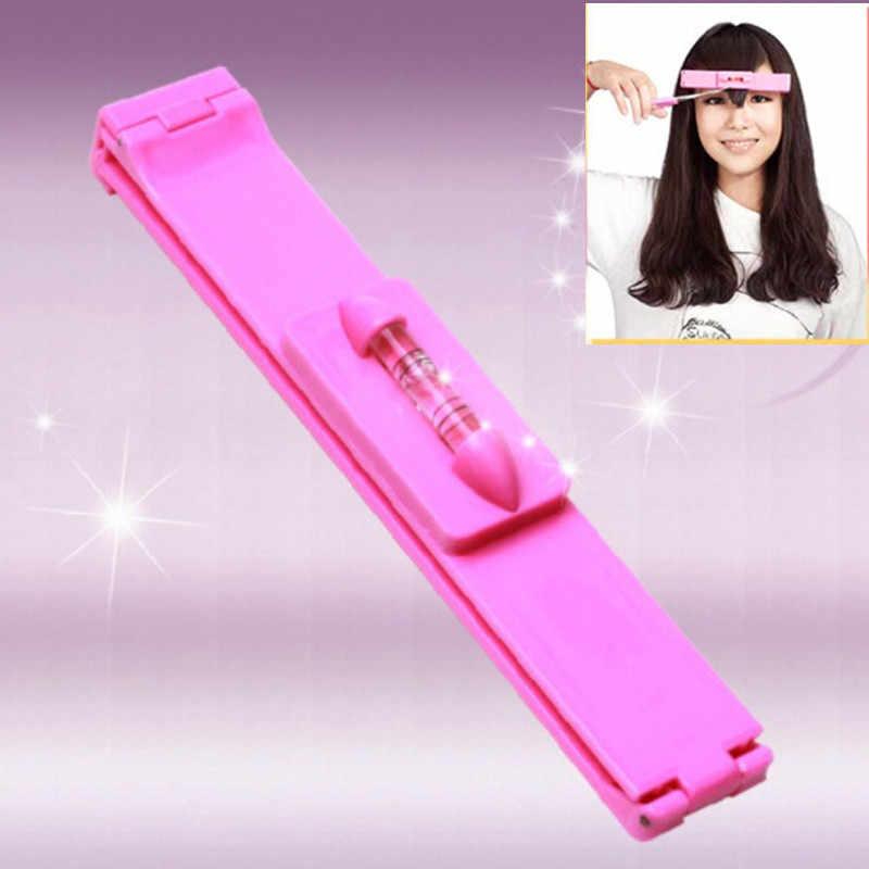 1 шт.. модные женские туфли для девочек волосы зажимы для челки Professional челка триммер DIY заколка для волос аксессуары режущие инструменты