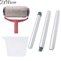 KiWarm Multifunction Paint Roller Kit Decorating Painting Brush Professional Tool For Home Room Wall Paint Painting