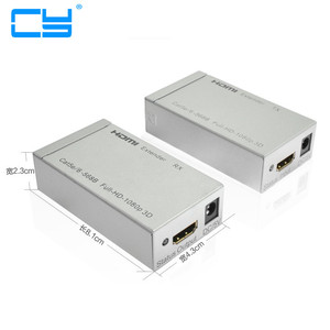HDMI 1.4v to RJ45 With 3D Extender Over 60m Ethernet LAN RJ45 CAT5E CAT6 For HD 1080P DVD PS3