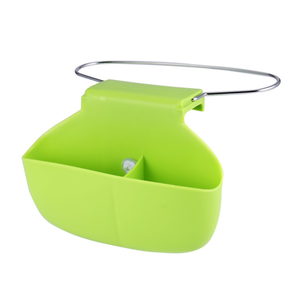 2 colors portable kitchen sink sponge hanging draining basket holder home kitchen sink storage gadget rack tools drop shipping - Kitchen Sink Tools