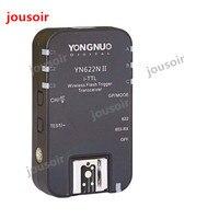Yongnuo YN-622N ii único transceptor yn 622n ii sem fio ttl flash gatilho para n d70 d70 d70 d90 d200 d300 d300s d600 cd50